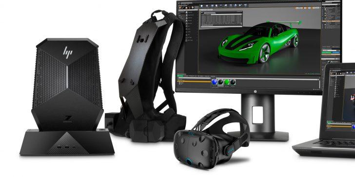 Nouveauté HP Z VR Backpack